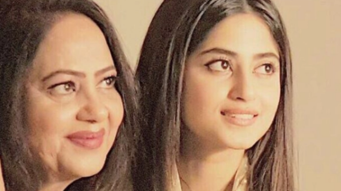 Sajal Aly and Her Mother