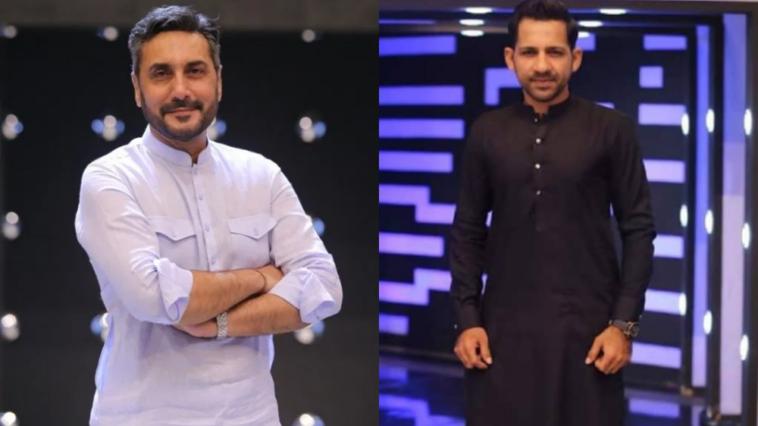 Adnan Siddiqui and Sarfraz Ahmad