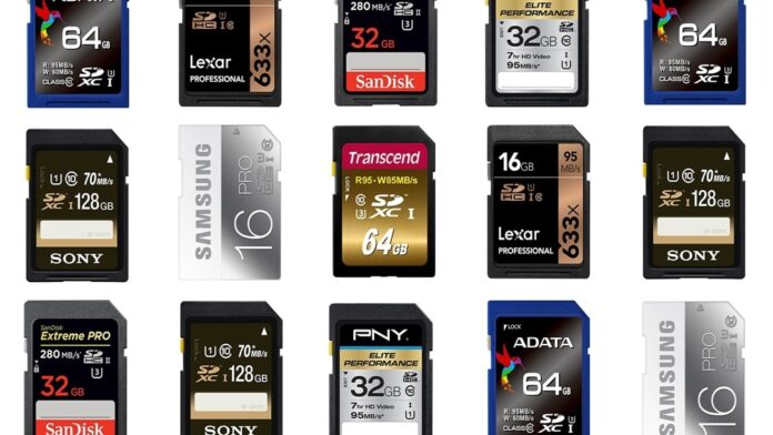 SD Cards Can Reach 4GB/s Transfer Speeds