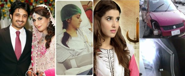 Pakistani celebrities Road Accidents