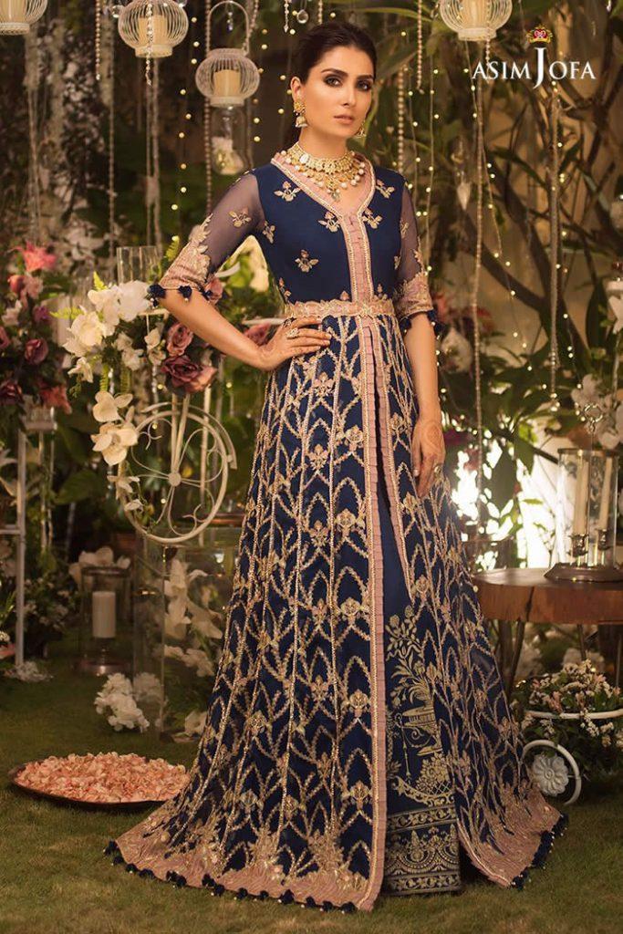 Aeyza Khan wearing Asim Jofa Dress
