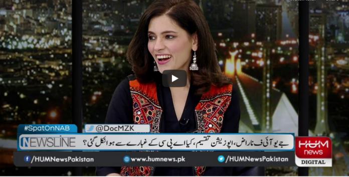 Newsline with Maria Zulfiqar 31st July 2020 Today by Hum News