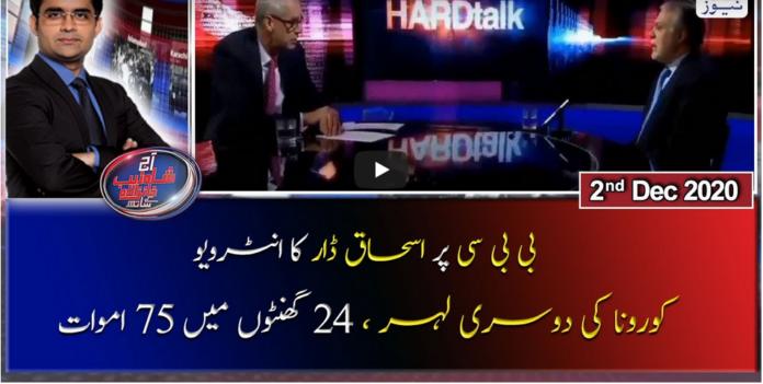 Aaj Shahzeb Khanzada Kay Sath 2nd December 2020 Today by Geo News