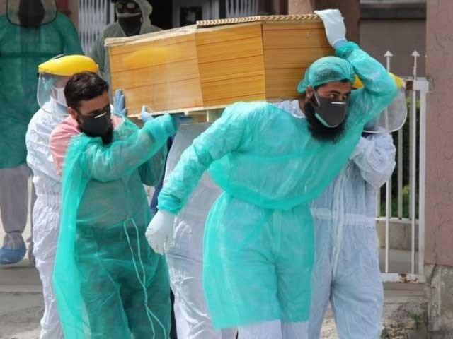 Dead Body of Corona Patient