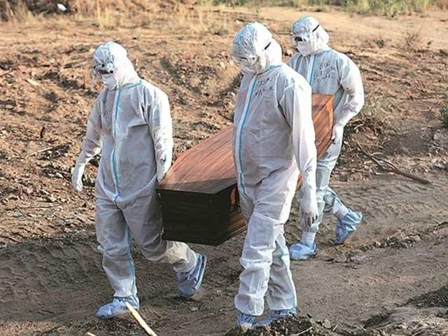 Dead Body of Covid-19 Patient