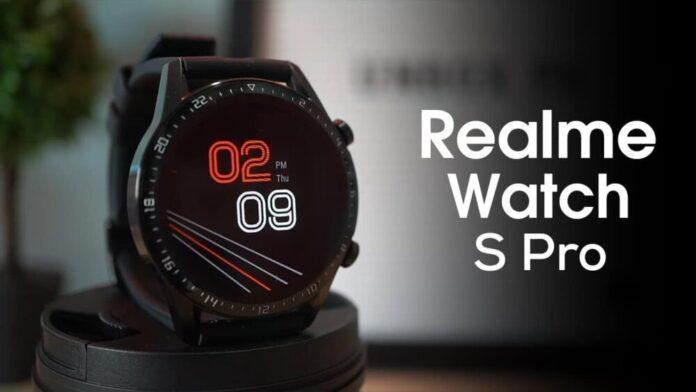 Realme Teases Realme Watch S Pro