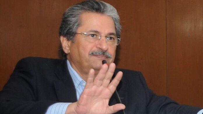 Education Minister Shafqat Mahmood