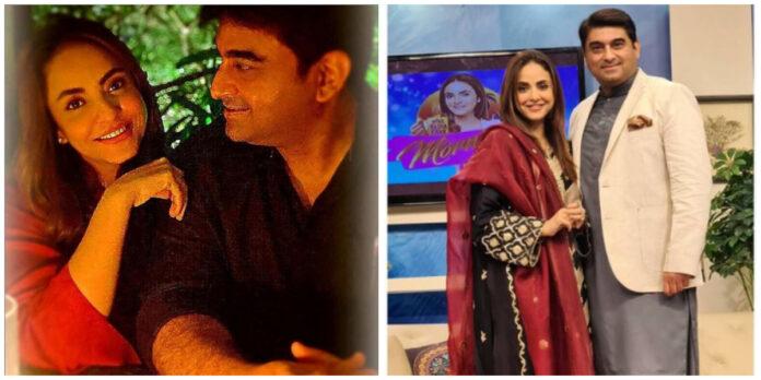 Nadia Khan and Her Husband