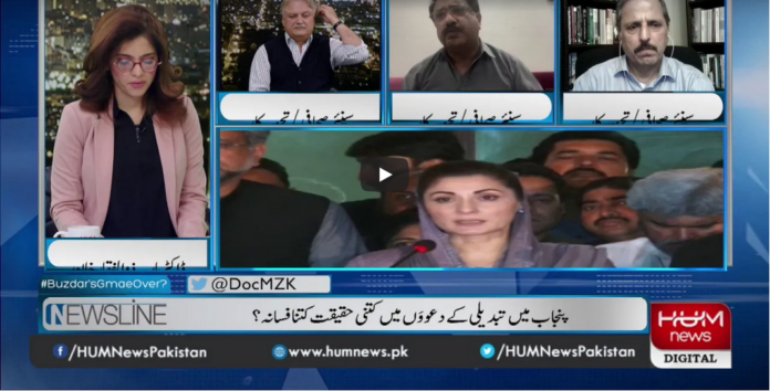 Newsline with Maria Zulfiqar 7th March 2021 Today by Hum News