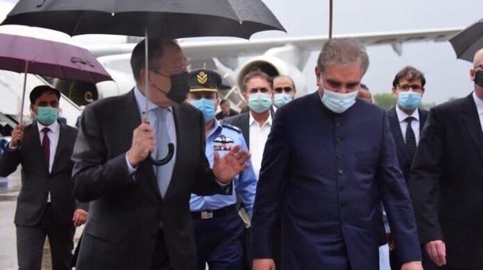 Russian and Pakistani Foreign Ministers